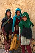Young Kashmiri girls outside Leh, Ladakh