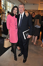 STEPHEN & KIMBERLEY QUINN at a party to celebrate the launch of the Vogue Fashion's Night Out held at Mulberry, Bond Street, London on 6th September 2012.