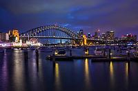 Lavender Bay & Harbour Bridge, North Sydney