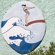Sign in Gibara, Holguin, Cuba.
