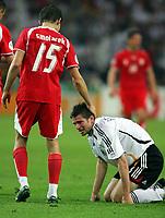 v.l. Ebi Smolarek, Arne Friedrich Deutschland<br /> Fussball WM 2006 Deutschland - Polen<br /> Tyskland - Polen<br /> Norway only