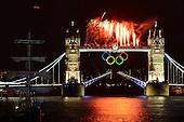 Opening Ceremony - Tower Bridge