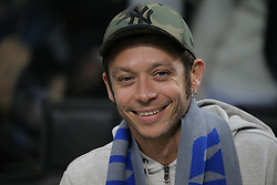 November 6, 2018 - Milan, Milan, Italy - Valentino Rossi before  the UEFA Champions League group B match between FC Internazionale and FC Barcelona at Stadio Giuseppe Meazza on November 06, 2018 in Milan, Italy. (Credit Image: © Giuseppe Cottini/NurPhoto via ZUMA Press)
