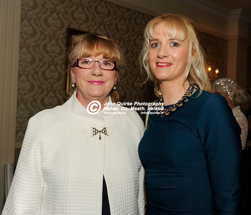31-03-17. Meath Style Awards at the Headfort Arms Hotel, Kells.<br /> Connie Hoey (Left) and Louise Flynn, Nobber.<br /> Photo: John Quirke / www.quirke.ie<br /> ©John Quirke Photography, Unit 17, Blackcastle Shopping Cte. Navan. Co. Meath. 046-9079044 / 087-2579454.