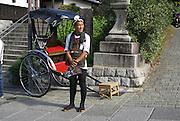 Kyoto, Japan, rickshaw