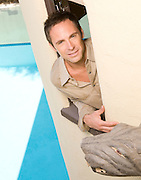 William DeVry photographed in Hollywood, CA for Soaps in Depth Magazine