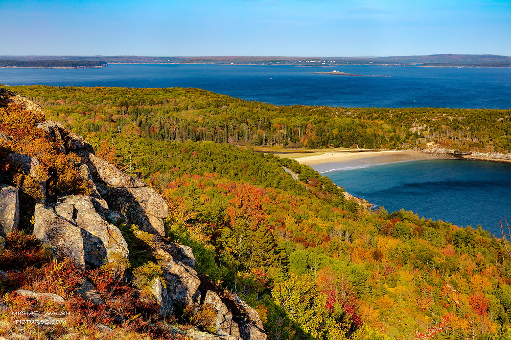 """TO PURCHASE: Simply click """"Add to Cart"""" to see prints and products available.<br /> <br /> Acadia National Park is an American jewel located on the stunning coast of Maine.<br /> <br /> The first national park located east of the Mississippi River it boasts views unlike anything on the eastern seaboard.<br /> <br /> This image was captured at the venerable Gorham Mountain trail and looks out over Sand Beach and Great Head Point.<br /> <br /> Probably one of the most hiked trails in Acadia and it never disappoints with outstanding views of the world of Acadia.<br /> <br /> Camera Data:<br /> f/13, 1/160sec, 58mm, ISO100<br /> RAW, Manual Mode, Evaluative Metering<br /> Hand Held, Polarizer, Lr<br /> Canon 5ds, Canon EF 24-105mm<br /> <br /> High Resolution Image"""