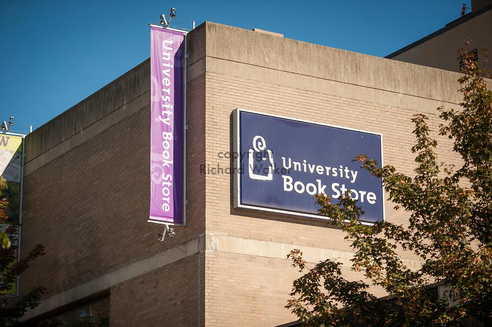 2016 October 11 - University Bookstore in the University District, Seattle, WA, USA. By Richard Walker