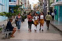 Students, Santa Clara Cuba 2020 from Santiago to Havana, and in between.  Santiago, Baracoa, Guantanamo, Holguin, Las Tunas, Camaguey, Santi Spiritus, Trinidad, Santa Clara, Cienfuegos, Matanzas, Havana