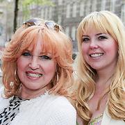 NLD/Amsterdam/20130503 - Boekpresentatie La Paay van Patricia Paay, Yvonne Keeley en dochter Roxy Paay