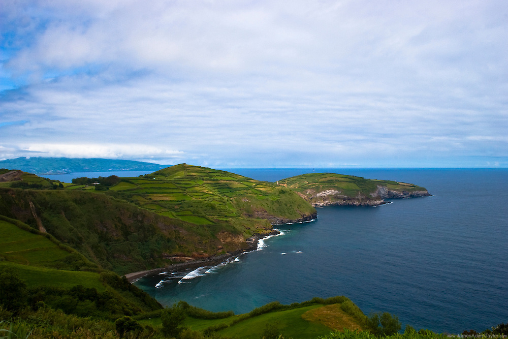 A view of the atlantic from San Miguel, Azores, Portugal.