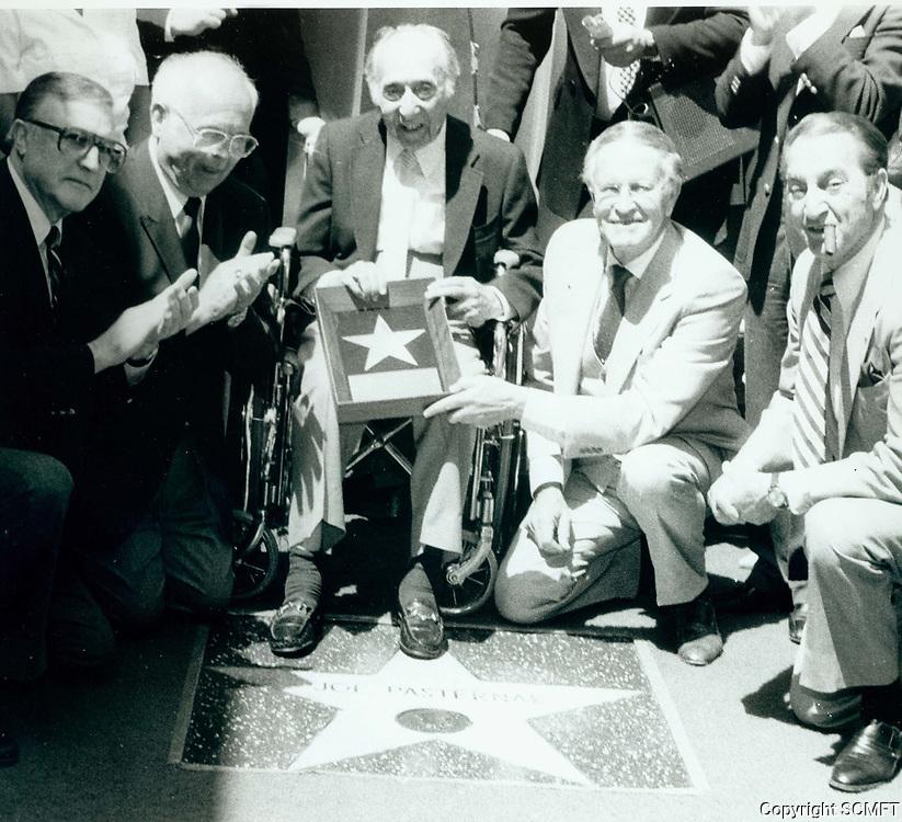 1984 Joe Pasternak's Walk of Fame ceremony