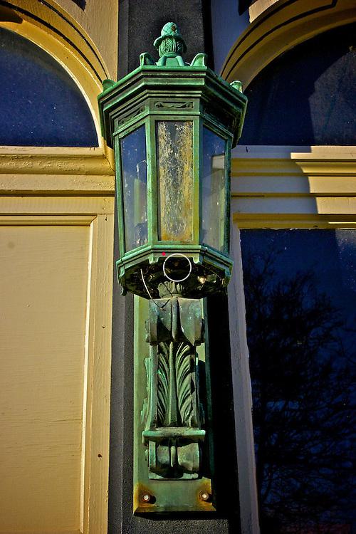 Antique Street Light Gosport Indiana