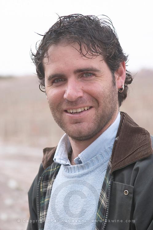 Ignacio Yapur. Bodega Valle Perdido (previously Arquen) Winery, Neuquen, Patagonia, Argentina, South America