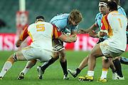 Patrick McCutcheon. Waratahs v Chiefs. 2013 Investec Super Rugby Season. Allianz Stadium, Sydney. Friday 19 April 2013. Photo: Clay Cross / photosport.co.nz