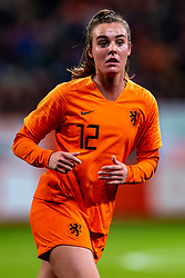 09-11-2018 NED: UEFA WC play-off final Netherlands - Switzerland, Utrecht<br /> European qualifying for the 2019 FIFA Women's World Cup - Jill Roord #12 of Netherlands