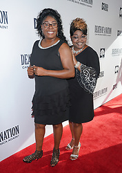Diamond and Silk at Death Of A Nation Los Angeles Premiere held at Regal L.A. Live: A Barco Innovation Center on July 31, 2018 in Los Angeles, California, United States (Photo by Jc Olivera for Jade Umbrella)
