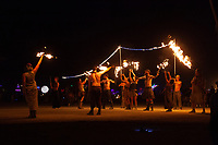 Fire Dancers at the Man Burn 2013