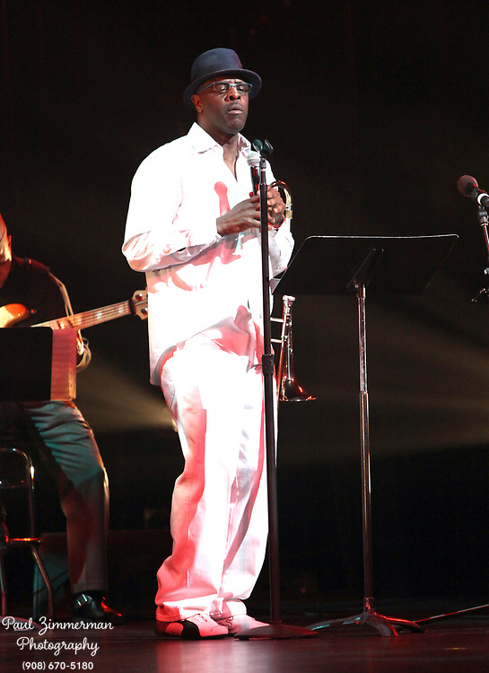 NEW YORK, NY - DECEMBER 30:  Musician Craig S. Harris of the band Tailgater's Tails performs at the 5th Annual Regeneration Night Kwanzaa Celebration at The Apollo Theater on December 30, 2011 in New York City.  (Photo by Paul Zimmerman/WireImage)