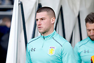 Aston Villa goalkeeper Sam Johnstone (1) during the EFL Sky Bet Championship match between Fulham and Aston Villa at Craven Cottage, London, England on 17 February 2018. Picture by Andy Walter.