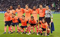 Fotball<br /> Foto: DPPI/Digitalsport<br /> NORWAY ONLY<br /> <br /> FOOTBALL - UEFA CHAMPIONS LEAGUE 2009/2010 - GROUP F - INTER MILAN v FC BARCELONA - 16/09/2009<br /> <br /> LAGBILDE BARCELONA ( BACK ROW LEFT TO RIGHT : ERIC ABIDAL / YAYA TOURE / ZLATAN IBRAHIMOVIC / SEYDOU KEITA / GERARD PIQUE / VICTOR VALDES . FRONT ROW : LIONEL MESSI / DANIEL ALVES / XAVI / THIERRY HENRY / CARLES PUYOL )