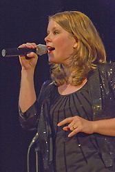Woman singer.