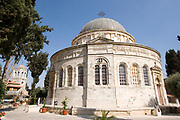 Exterior of the Ethiopian church Jerusalem Israel built between 1873 and 1911