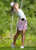 Blair O'Neal during LPGA Futures Tour Saturday, July 23rd.  (Karen Bobotas/for the Concord Monitor)