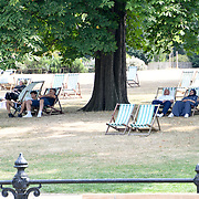 UK Weather: People enjoy The longest Heatwave continues in Hype park, London, UK. July 26 2018.