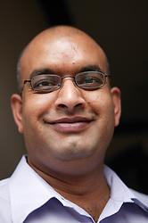 Portrait of a south Asian man,