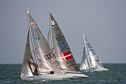 Medemblik - the Netherlands, July 11th 2010. Delta Lloyd IFDS Worlds 2010 (9/14 July 2010). Day three, race five.