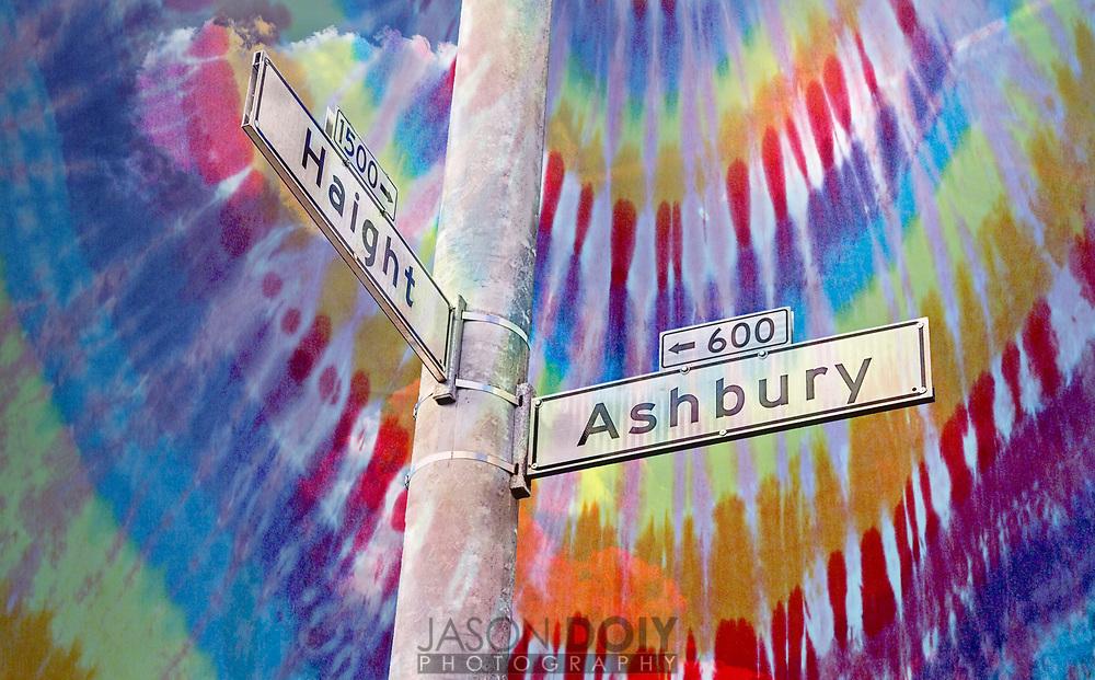 Haight Ashbury district in San Francisco
