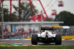 Romain Grosjean (FRA) Haas F1 Team VF-16.<br /> 08.10.2016. Formula 1 World Championship, Rd 17, Japanese Grand Prix, Suzuka, Japan, Qualifying Day.<br /> Copyright: Moy / XPB Images / action press