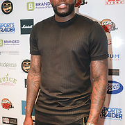 London,England,UK. 14th May 2017. Jay attends the BBL Play-Off Finals also fundraising for Hoops Aid 2017 but also a major fundraising opportunity for the Sports Traider Charity at London's O2 Arena, UK. by See Li