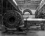 Generators Under Construction, Siemens-Schuckertwerk, Gartenfeld, 1928