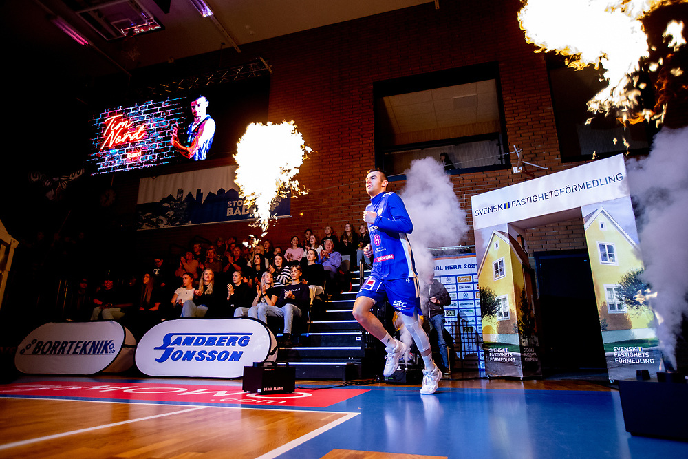 ÖSTERSUND 20211007<br /> Jämtlands Tim Nord under torsdagens match i basketligan mellan Jämtland Basket och Norrköping Dolphins.<br /> Foto: Per Danielsson / Projekt.P