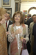 Flora Soros. The Queen's celebration of the Arts. Royal Academy. 16 May 2002. © Copyright Photograph by Dafydd Jones 66 Stockwell Park Rd. London SW9 0DA Tel 020 7733 0108 www.dafjones.com