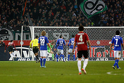 06.11.2011, AWD-Arena, Hannover, GER, 1.FBL, Hannover 96 vs FC Schalke 04, im Bild 25 Mohamed Abdellaoue (Hannover #25) trifft zum 2 zu 1 .// during the match from GER, 1.FBL, Hannover 96 vs  FC Schalke 04 on 2011/11/06, AWD-Arena, Hannover, Germany. .EXPA Pictures © 2011, PhotoCredit: EXPA/ nph/  Schrader       ****** out of GER / CRO  / BEL ******