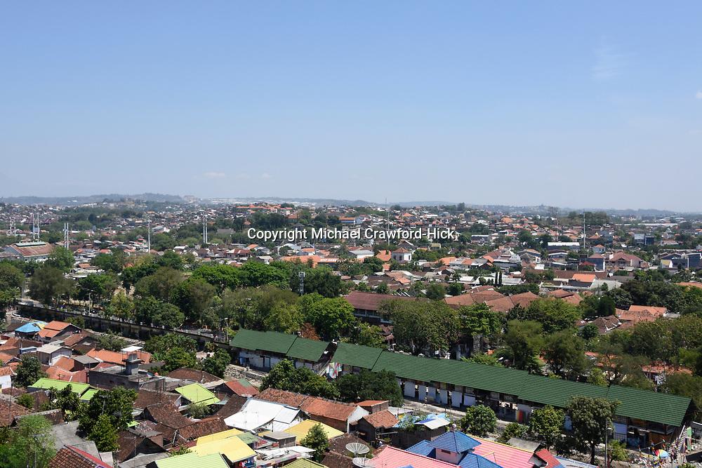 Rainbow Village in Semerang, Indonesia