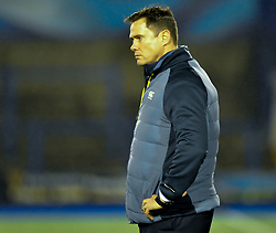 Cheetahs' Head Coach Rory Duncan<br /> <br /> Photographer Mike Jones/Replay Images<br /> <br /> Guinness PRO14 Round 14 - Cardiff Blues v Cheetahs - Saturday 10th February 2018 - Cardiff Arms Park - Cardiff<br /> <br /> World Copyright © Replay Images . All rights reserved. info@replayimages.co.uk - http://replayimages.co.uk