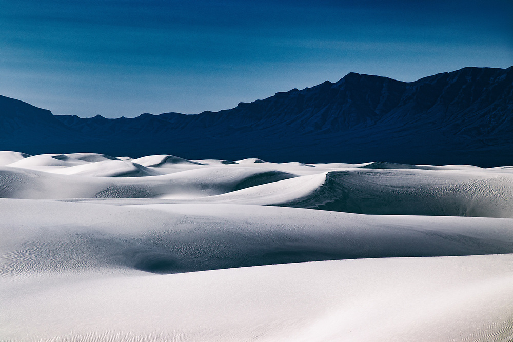 Daytime Landscapes at White Sands National Monument in New Mexico. ©justinalexanderbartels.com