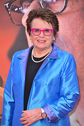 © Licensed to London News Pictures. 07/10/2017. London, UK. BILLIE JEAN KING attend the European film premiere of Battle Of The Sexes showing as part of the BFI London Film Festival. Photo credit: Ray Tang/LNP