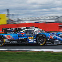 #36, Signatech Alpine Matmut Alpine A470 Gibson, LMP2, driven by: Nicolas Lapierre, Andr? Negr?o, Pierre Thiriet on 16/08/2018 at the Silverstone 6H, 2018