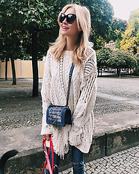 """Mandy Bork releases a photo on Instagram with the following caption: """"\ud83c\udf42\ud83c\udf44\ud83c\udf41 #fall #cozytime #ootd #weekendvibes"""". Photo Credit: Instagram *** No USA Distribution *** For Editorial Use Only *** Not to be Published in Books or Photo Books ***  Please note: Fees charged by the agency are for the agency's services only, and do not, nor are they intended to, convey to the user any ownership of Copyright or License in the material. The agency does not claim any ownership including but not limited to Copyright or License in the attached material. By publishing this material you expressly agree to indemnify and to hold the agency and its directors, shareholders and employees harmless from any loss, claims, damages, demands, expenses (including legal fees), or any causes of action or allegation against the agency arising out of or connected in any way with publication of the material."""