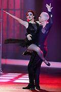 Auftritt von Edward Piccin mit Coach und Tanzpartnerin Noemi Bozzo bei der SRF-Tanzshow «Darf ich bitten?» Erste Qualifikationsshow vom 07. März 2020 in den Fernsehstudios Zürich.