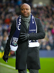 Retired footballer Rod Wallace during a tribute to Cyrill Regis