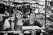 Mother and daughter at the market in Stepanakert, Nagorno-Karabakh<br /> <br /> (September 22, 2016)