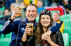 Scottish supporters during football match between National Teams of Slovenia and Scotland of Fifa 2018 World Cup European qualifiers, on October 8, 2017 in SRC Stozice, Ljubljana, Slovenia. Photo by Vid Ponikvar / Sportida