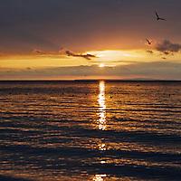 Dusk at Totland Bay, Isle of Wight