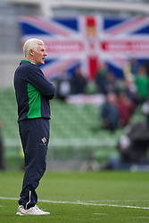DUBLIN, REPUBLIC OF IRELAND - Friday, May 27, 2011: Northern Ireland's manager Nigel Worthington during the Carling Nations Cup match against Wales at the Aviva Stadium (Lansdowne Road). (Photo by David Rawcliffe/Propaganda)